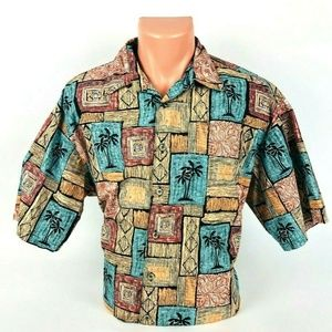 Cooke street Honolulu Large button down shirt